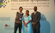 Emerging Voices at the First Global Symposium on Health Systems Research, Montreux (2010)