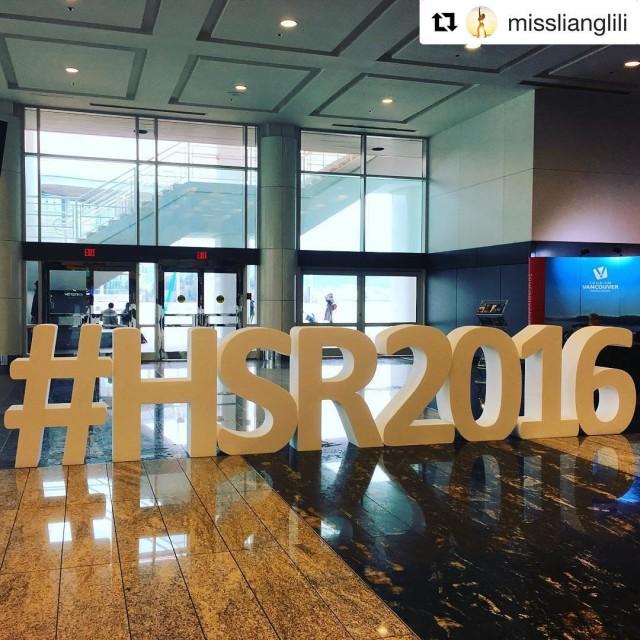 Regram of the giant HSR2016